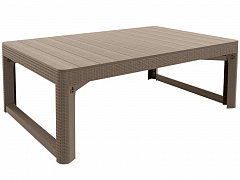 стол lyon rattan table капучино сайт